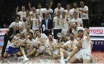Efeler Ligi'nde şampiyon Halkbank