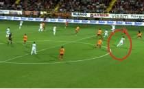 Galatasaray maçında kıyamet kopartan pozisyon için;