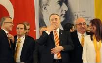Galatasaray Başkanı Mustafa Cengizden konuşmama totemi