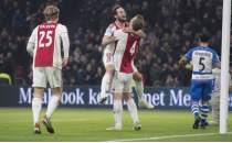 Ajax çıldırdı! 8 gollü galibiyet...