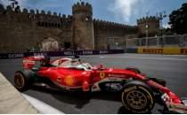 Bakü'de Formula 1 heyecanı başlıyor