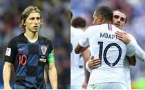 Dünya Kupası'nda dev final! Fransa-Hırvatistan