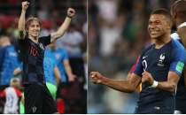 Dünya Kupası'nda dev maç; Fransa - Hırvatistan