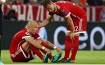 Bayern Münih'te Robben şoku!