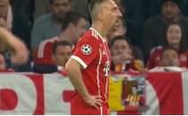 Allianz Arena'da dikkat çeken an! Ribery ve Galatasaray...