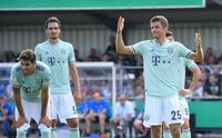 Bayern, Amatör Lig takımını zor yendi!