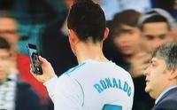 Ronaldo kanlar içinde kaldı, telefona sarıldı
