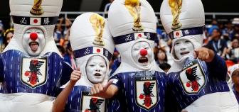 Kolombiya - Japonya maçı öncesinde Rusya'da objektiflere yansıyanlar!..