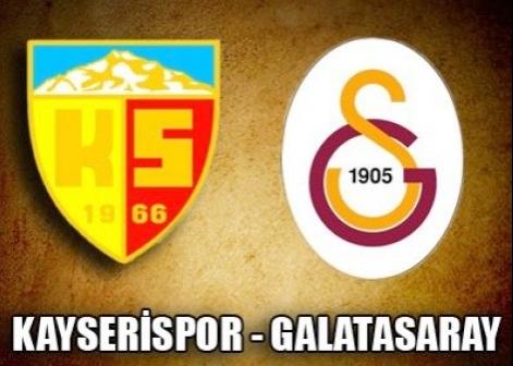 Kayserispor 1-3 Galatasaray Geni� �zet