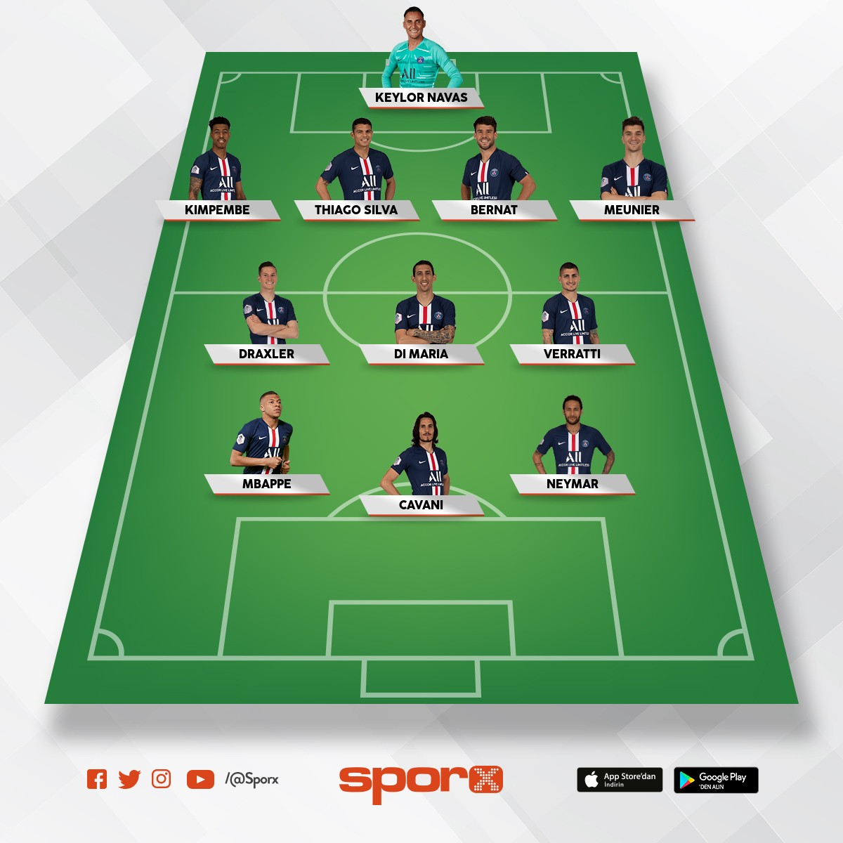 Paris Saint Germain Sporx Ilk11