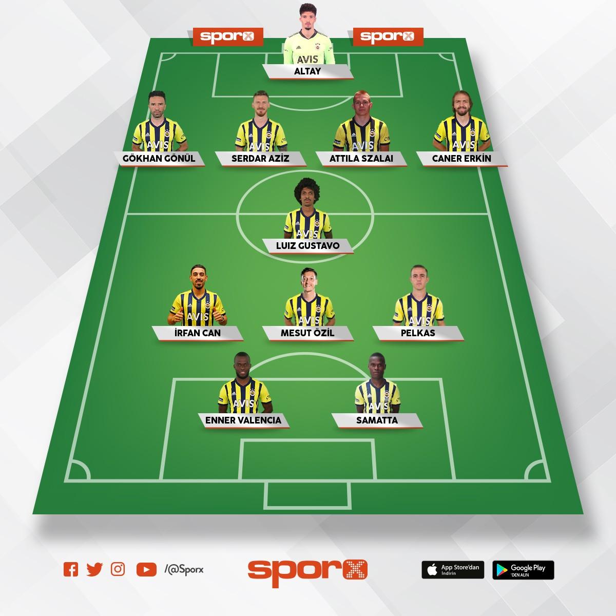 Fenerbahçe de çok fazla aynı mevki oyuncu var
